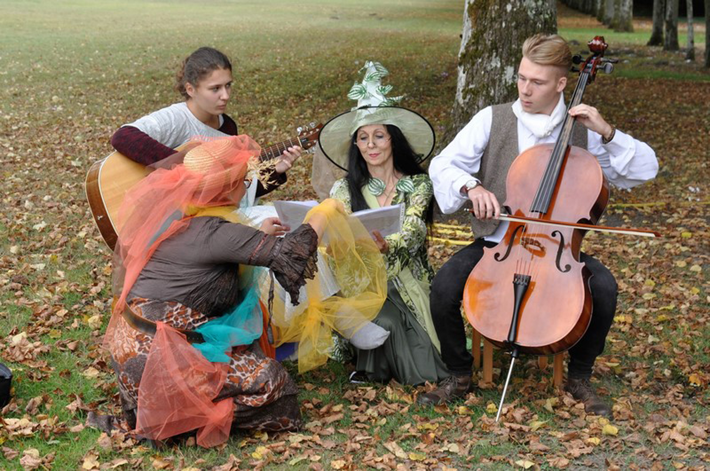 Musiciens - Ballade contée
